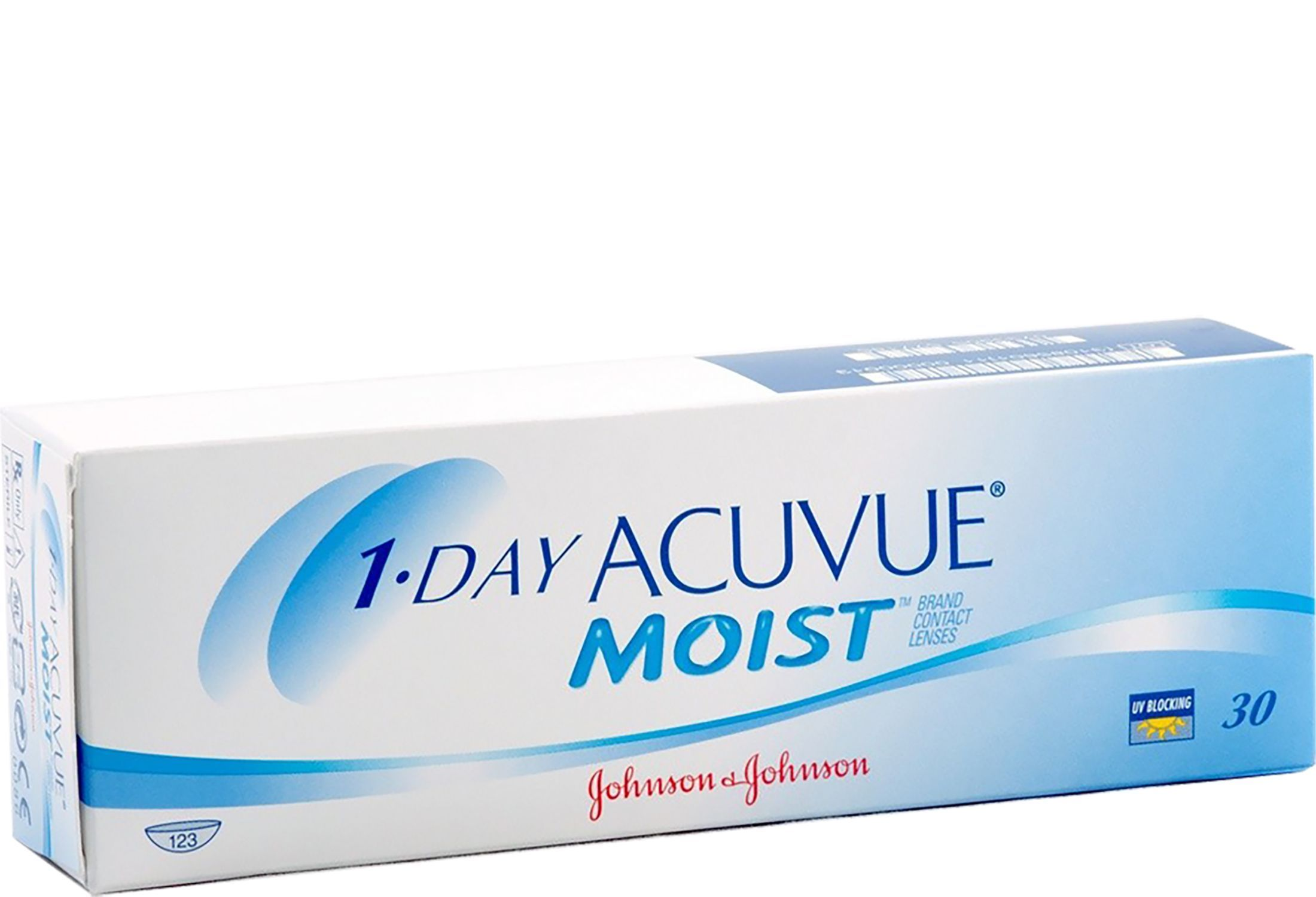 1-DAY ACUVUE MOIST 30 stk