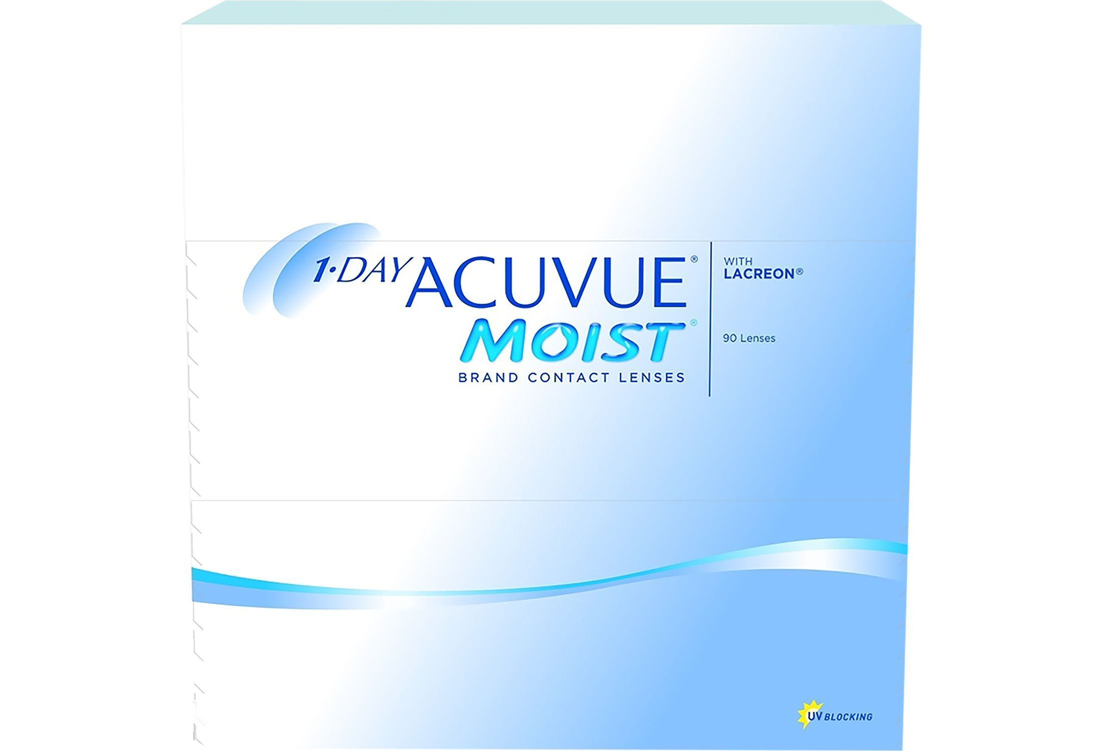 1-DAY ACUVUE MOIST 90 stk