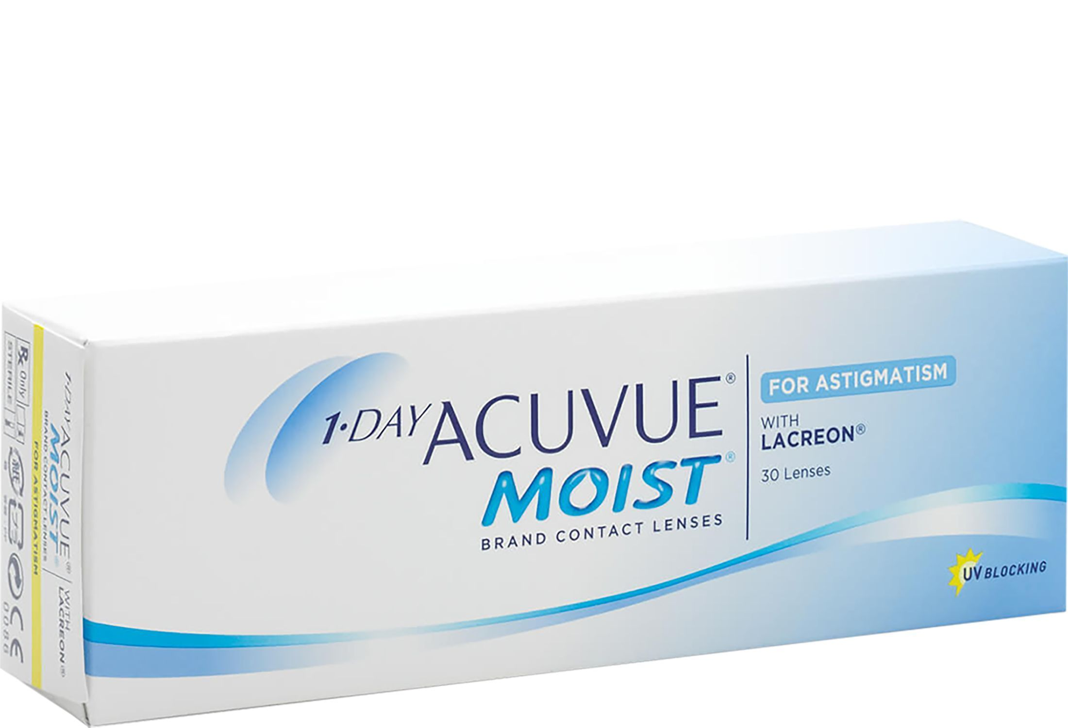 1-DAY ACUVUE MOIST for ASTIGMATISM 30 stk