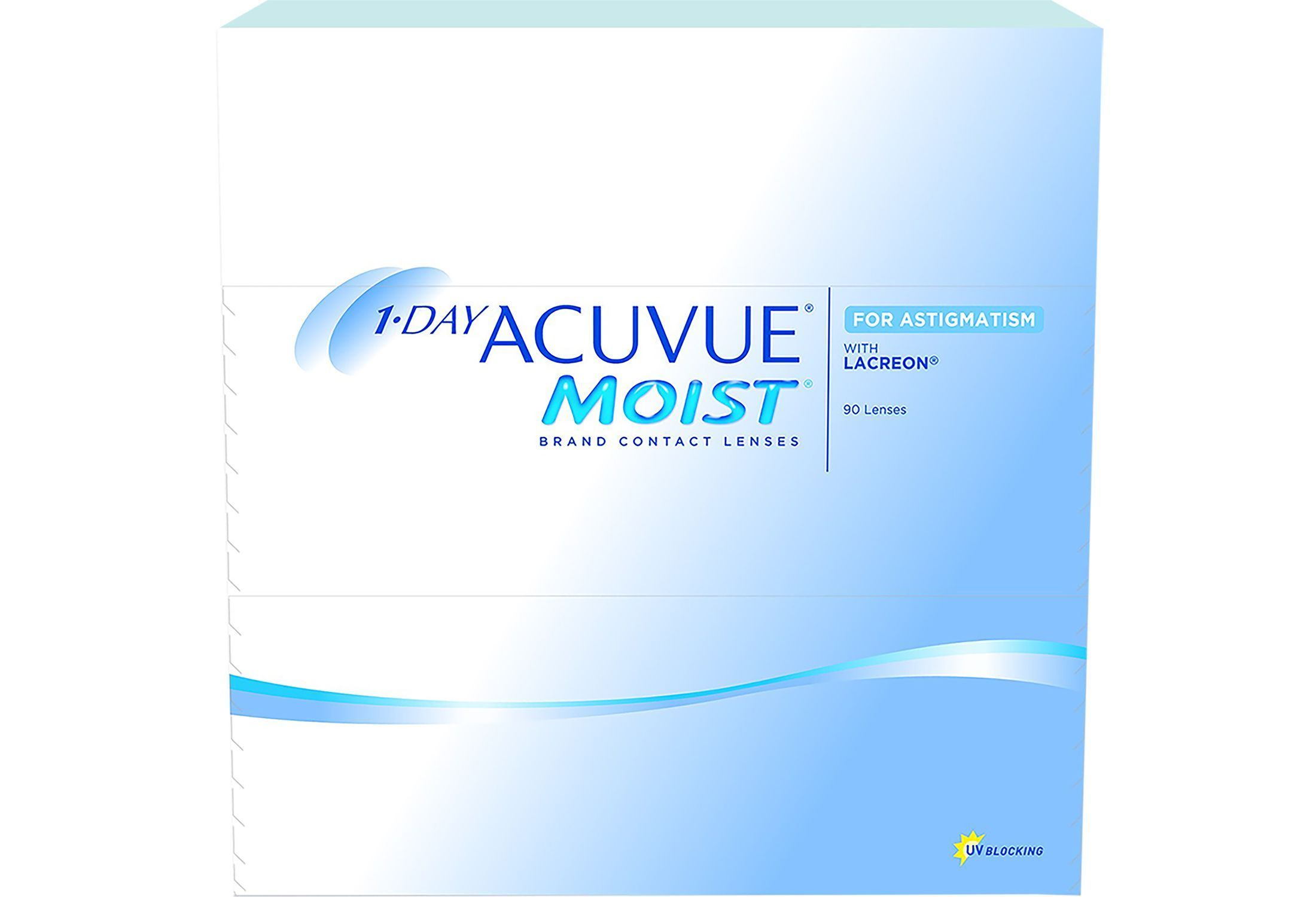 1-DAY ACUVUE MOIST for ASTIGMATISM 90 stk