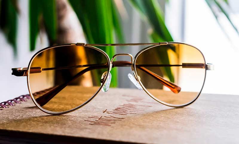 4de6da3fb0cf Pilotsolbriller med styrke
